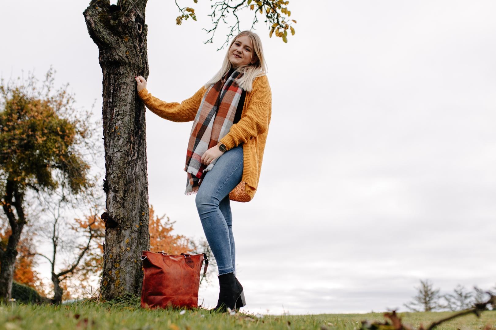 Herbstlich Portrait Outdoor