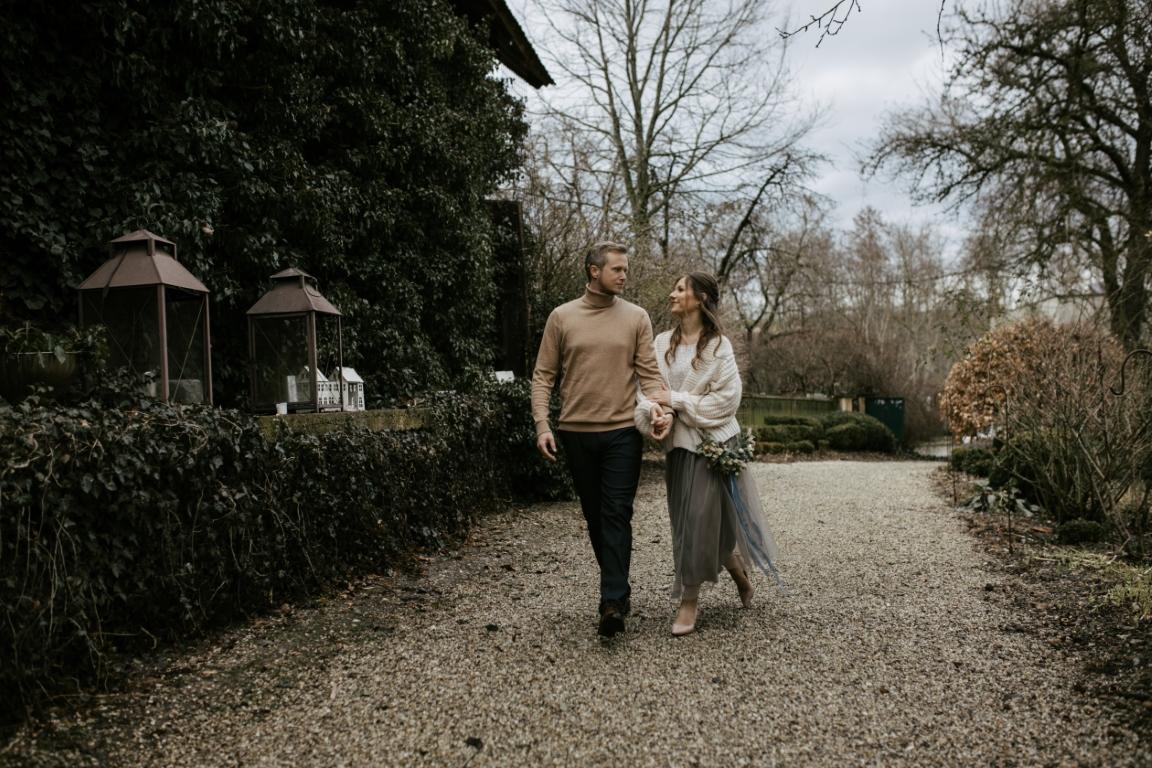 Oberhauser Hochzeit winterlich